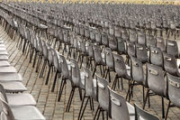The aligned chairs
