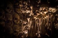 A Wall of Human Skulls in Portugal's Chapel of Bones