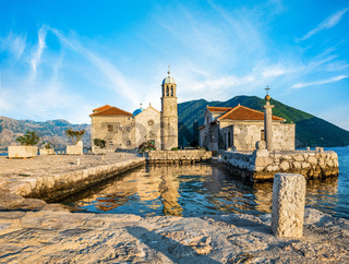 Church in Bay of Kotor