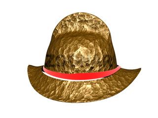 goldener Soldatenhelm der Spanier