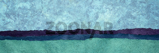 abstract paper landscape panorama