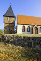Dorfkirche Sargleben bei Karstaedt (Prignitz), Brandenburg, Deutschland