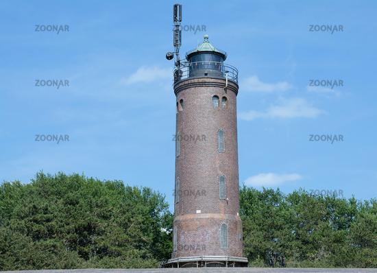 Leuchtturm von Sankt Peter-Ording Boehl,Nordfriesland,Nordsee,Schleswig-Holstein,Deutschland
