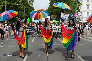Wien, Oesterreich, Teilnehmer auf der Euro Pride Parade