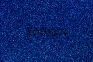 Blue Glitter Background