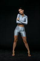 Portrait Of Woman in sport wear