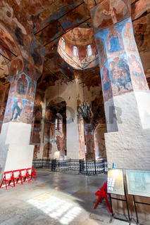 Ancient Frescoes in Znamensky Cathedral