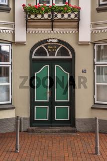 Fassadendetail in Eckernfoerde