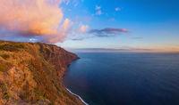 Sunset in Ponta do Pargo - Madeira Portugal