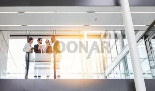 Business Team Meeting im Büro