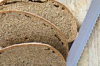 dark bread from flour