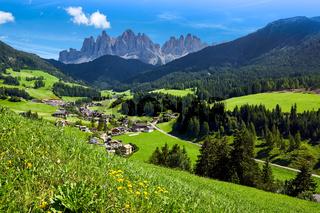 Villnösstal in den Dolomiten