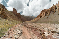 Trail in Markha Valley