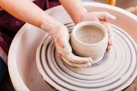 Child's ceramic handicrafts
