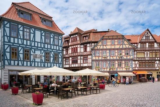 historische Altstadt von Schmalkalden In Thüringen