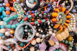 Stylish fashion colorful bracelets.