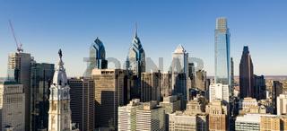 Urban Core City Center Downtown Philadelphia Pennsylvania