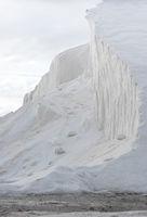 Hügel mit purem Salz