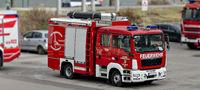 Einsatzfahrzeug des Tauchdienstes des Niederösterreichischen Landesfeuerwehrverbandes in Tulln