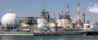 Chemical Factory plant Panorama