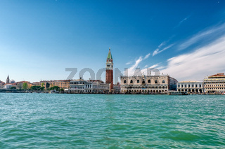 St Mark's Square in Venice, Italy, Piazza San Marco in Venezia