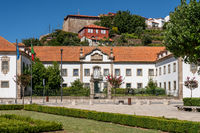 Ornate luxury hotel Messe dos Oficiais in Lamego Portugal