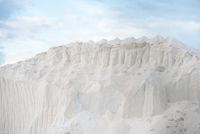 Hügel mit reinem Salz