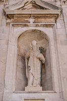 Statue of Saint Blaise in Dubrovnik