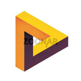 penrose endless loop triangle