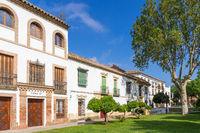 Historische Gebäude beim Campo Santo de los Mártires Platz, Cordoba, Andalusien, Spanien, Europa