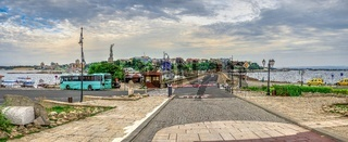 View of the New Town of Nessebar, Bulgaria
