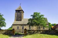 Dorfkirche Leuenberg, Gemeinde Hšoehenland, Brandenburg, Deutschland