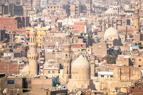 typical scenery at Cairo Egypt