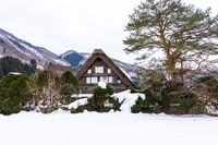 Historic Villages of Shirakawa-go in Gifu, Japan