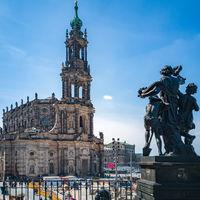 Dresdner Hofkirche, Sachsen, Deutschland