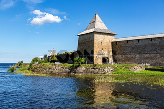 Shlisselburg Fortress near the St. Petersburg, Russia