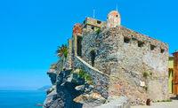 The Dragon Castle in Camogli