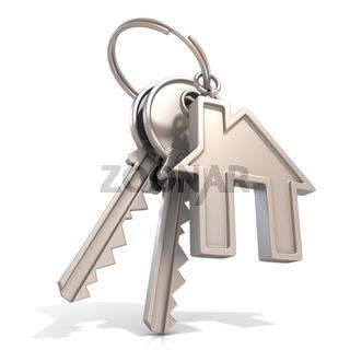 Key of house door