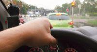 Driving car POV