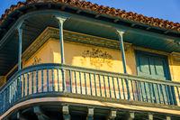 Beautiful Colonial Facade in Trinidad Cuba