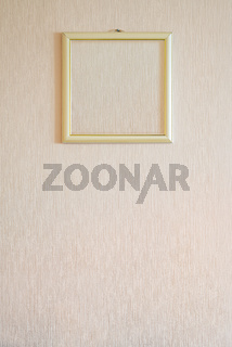 A true modern photo frame with gold ornaments and blank copy space