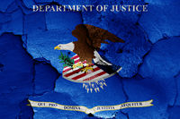 flag of Department of Justice of USA