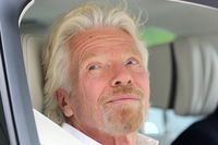 British businessman Richard Branson