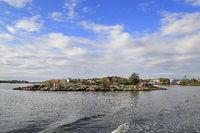 Small Island Ryssänsaari  on a Beautiful Day