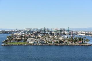 Port of San Pedro in Los Angeles, California