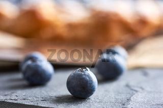 Blaubeerkuchen