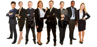 Business Gruppe als Consulting Team