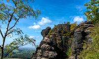 Plateau auf dem Lilienstein