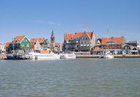 im Hafen von Edam-Volendam am Ijsselmeer,Provinz Noord-Holland,Niederlande