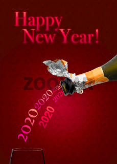 Champagne for New Year 2020